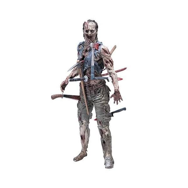 The Walking Dead Serie Cómica 4 Zombie Pin Cushion Acción Figura 1