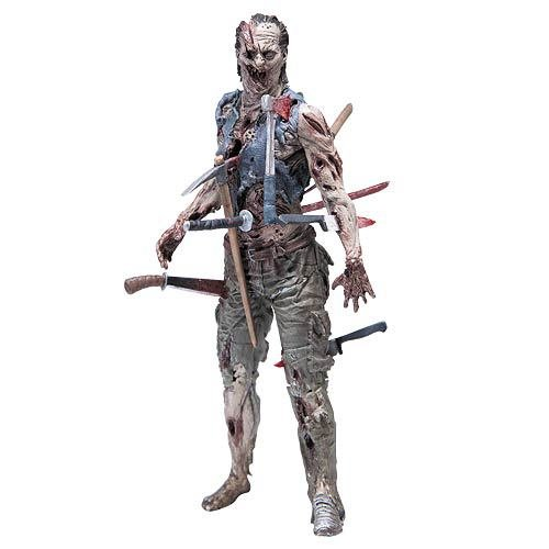 The Walking Dead Serie Cómica 4 Zombie Pin Cushion Acción Figura