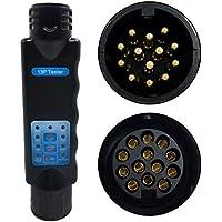 YSSP Resistencia Europea probador 13 de Pasador de núcleo Orificio del Pasador de Remolque de Coches Hembra Connector Cola Detector de Inspección de señal de línea de luz