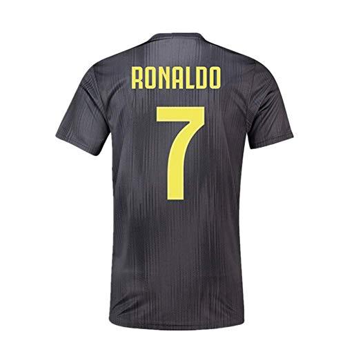 f1535db1e6d JRJ 2018-2019 Cristiano Ronaldo 7 T-Shirt CR7 Juventus Homme Maillot    Enfants
