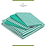 Best Cosy House Collection Sheet and Pillowcase Sets - Full , Green : Cosy House Bed Sheets Review