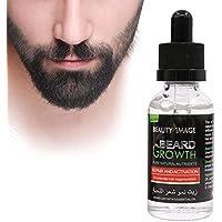 PAWACA Aceite esencial para el crecimiento de la barba,aceite de jengibre natural,aceite