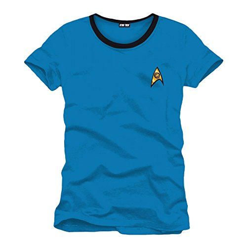 Star Trek T-Shirt Uniform blue Size L CODI