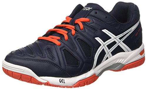 ASICS Gel Game 5 Sky Captain Navy Blu/Bianco/Arancione