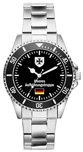 Soldat Geschenk Bundeswehr Artikel Heeresaufklärungstruppe Uhr 1065
