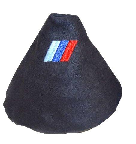 Soufflet de levier en daim Noir à broder M3///