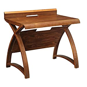 Jual Santiago Small Walnut Computer Desk