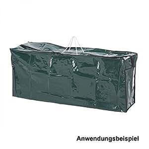 Coque Coussin d'assise 130x 32x 50cm vert Fauteuil à dossier haut auflagen Protection Étui de protection