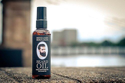 Bartöl Conditioner für Männer zur Bartpflege - Beard Oil von Benjamin Bernard...