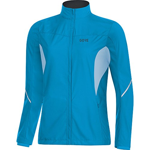 GORE WEAR Damen R3 Partial Windstopper Jacke, Blau (Dynamic Cyan/Ciel Blue), 38 (Herstellergröße:...