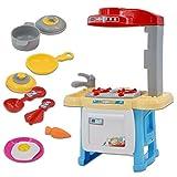 deAO Cocina Mini de Juguete Mi Primera Cocinita Playset Conjunto con...