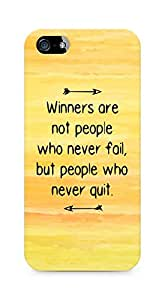 AMEZ but people who never quit Back Cover For Apple iPhone 5s