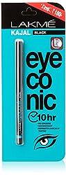 Lakme Eyeconic Kajal, Black, 0.35g (Rs 30 Off)