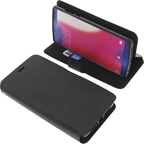 foto-kontor Tasche für Doogee BL12000/BL12000 Pro Book Style schwarz Schutz Hülle Buch