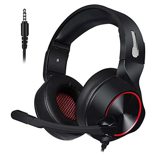 Tong Playstation Xbox 1 S mit Stereoanlage und Mikrofonlautstärke für die Manschette (Farbe : Rot)