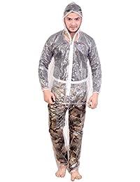 Krystle Men's Transparent PVC Rainsuit (Pack of 1)