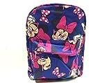 Rucksack–Disney–Minnie Maus allover Schule Bag Navy New 646929-pink