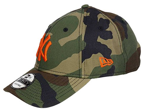 New Era - New York Yankees - 9forty Adjustable Cap - League Essential - Camouflage - One-Size
