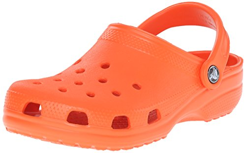 crocs Unisex-Erwachsene Classic Clogs, Orange (Mandarine), 41/42 EU (M8 | W10)