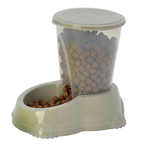 Smarty Katze Schüssel Snacker Dose für Snacks oder Sipper 1,5l Wasserspender Futterspender für Trockenfutter Spender Hund Wasser (Refill-hund-schüssel)