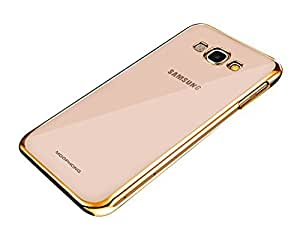 SBG Mee Phone Cover for Samsung Galaxy A7 (Golden)