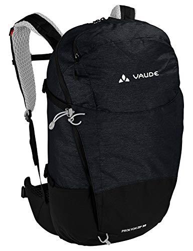 VAUDE Prokyon Zip 28, Geräumiger Wander- und Outdoorrucksack Rucksaecke20-29l, Black, one Size -