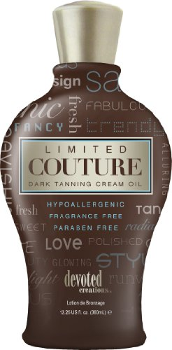 Devoted Creations Limited Couture Dark Tanning Cream Oil 360ml