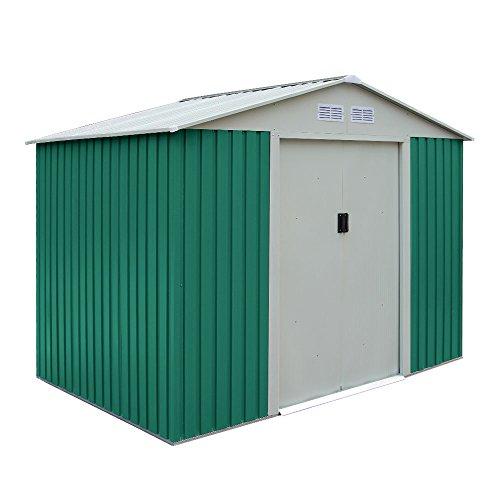 Box-Casetta-giardino-esterno-lamiera-zincata-rispostiglio-191x111xh190-CLASSIC-S