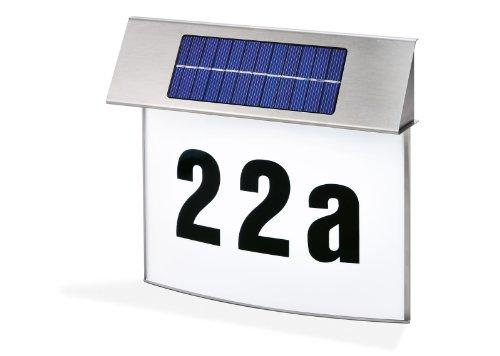 Esotec SOLAR LED Hausnummernleuchte