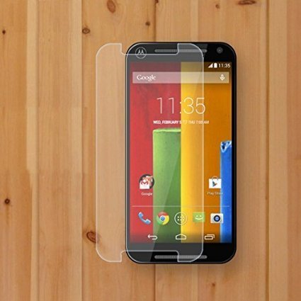 M.G.R Moto G2 (2Nd Generation) Tempered Glass, 3D Touch Compatible, 9H Hardness, Bubble Free, Anti-Scratch, Fingerprint, Oil Stain Coating