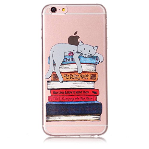 Per iPhone 6 Plus / iPhone 6S Plus Cover , YIGA Unicorno dellaerostato Trasparente Silicone Morbido TPU Case Shell Protezione Custodia per Apple iPhone 6 Plus / iPhone 6S Plus (5,5) XY23