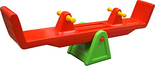 Ehomekart Playgro Plastic Tetter Totter See Saw, 155x43x28cm (Colour May Vary)