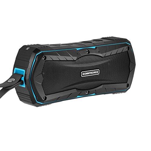 ICONNTECHS IT Tragbare Kabellose Bluetooth Lautsprecher für Outdoor Sport Dusche zu Hause Stereo Sound Wasserdicht IPX6 7 Stunden