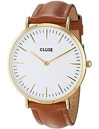 Cluse Montre Mixte Analogique avec Bracelet en Cuir – CL18409