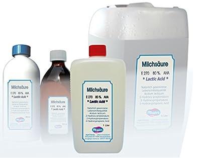 Milchsäure 80% Lactic Acid AHA E270 1000 ml Imkerfreude 1,2 kg 1 Liter von Algin-Chemie auf Du und dein Garten