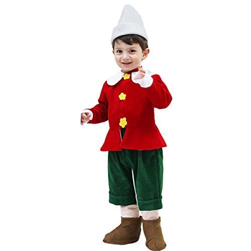 costume di carnevale pinocchio (2 - 3 anni)