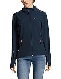 Ultrasport Advanced Softshell Jacket Tina for Women, Women's Functional Jacket, Women's Outdoor Jacket
