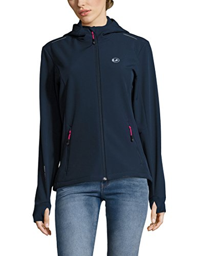 Ultrasport Damen Advanced Softshelljacke Tina, Marine/Pink, 2XL