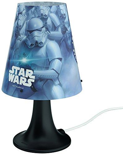 41Mlp 2GMRL - Philips Star Wars 717959926 lámpara de mesa Multicolor 2,3 W LED - Lámparas de mesa (Multicolor, Sintético, Habitación de los niños, Expresivo, IP20, III)