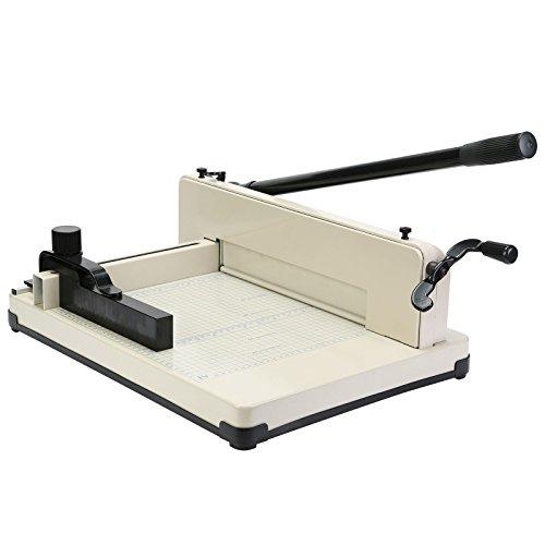 VEVOR Taglierina Carta Ghigliottina Taglio Carta Paper Cutter Guillotine 400 Fogli Carte Formato A4 12 Inch Heavy Duty