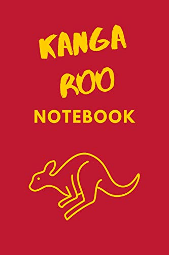 Kangaroo Notebook: Blank Journal (Alligator-thermometer)