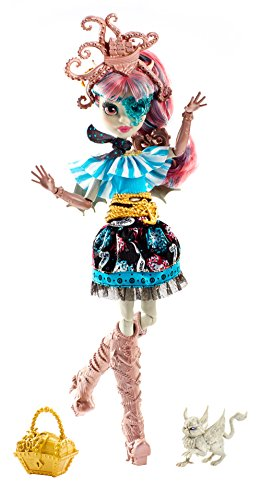 Mattel Monster High DTV89 - Gruselschiff Monster-Matrosen Puppe Rochelle