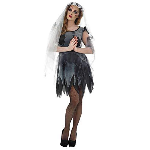 Bride Corpse Kostüm Damen - Fun Shack Damen Costume Kostüm Corpse Bride, Womens: 12-14