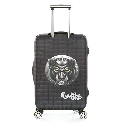 Dometool Reise Gepäck Bezug Koffer Schutz Tasche Polyester Spandex Stretch Stoffbezug 18-32 Zoll Style 6