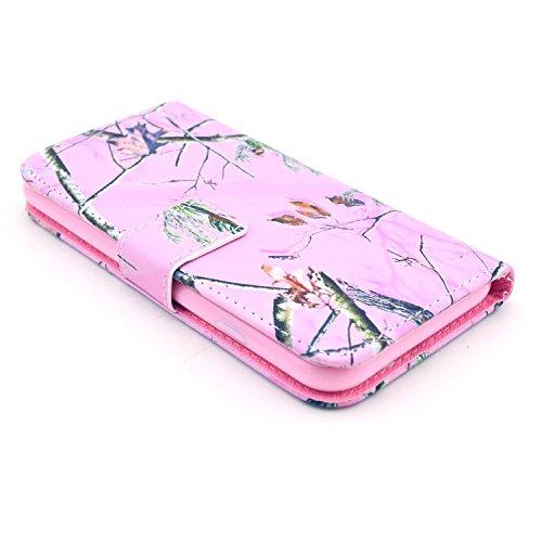 """MOONCASE iPhone 6 Plus Case Motif Conception Coque en Cuir Portefeuille Housse de Protection Étui à rabat Case pour iPhone 6 Plus (5.5"""") P23"""