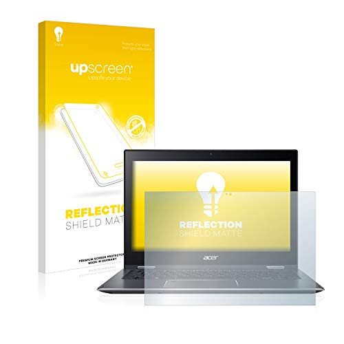 upscreen Matt Schutzfolie kompatibel mit Acer Spin 5 SP513-52N - Entspiegelt, Anti-Reflex, Anti-Fingerprint