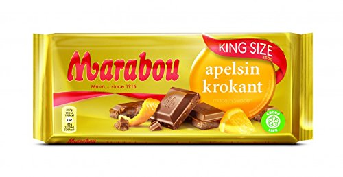 Marabou Apelsin-Krokant