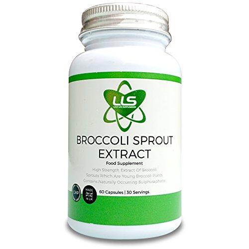 LLS Broccoli Sprout | 60 Capsule | 15,000mg per 2 Capsule Dose | Elevato contenuto di antiossidanti | Ricco di verdure verde contiene fibre, calcio e vitamina C | 50 volte il Sulfurophane Trovato in Broccoli maturo | Adatto per 15,000mg per 2 Capsule Dose | Elevato contenuto di antiossidanti | 50 volte il Sulfurophane Trovato in Broccoli maturo | Adatto per vegetariani e vegani | Premium GMP Supplemento Vegetariani e vegani | Premium GMP Supplemento