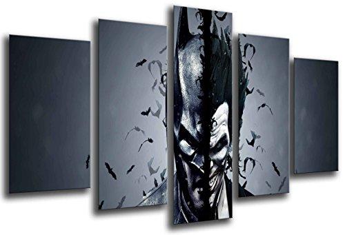 Cuadro Moderno Fotografico Superheroes, Batman, Joker, 165 x 62 cm Ref. 26432