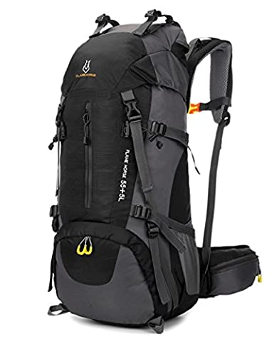 Camping Backpack Internal Frame 65L for Hiking Mountaineer Outdoor Sports Water Resistance Daypack Traveling Racksuck